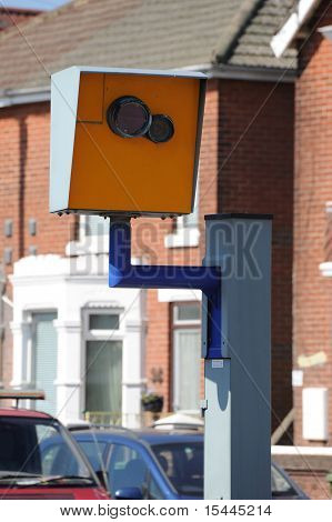 Road safety speed camera