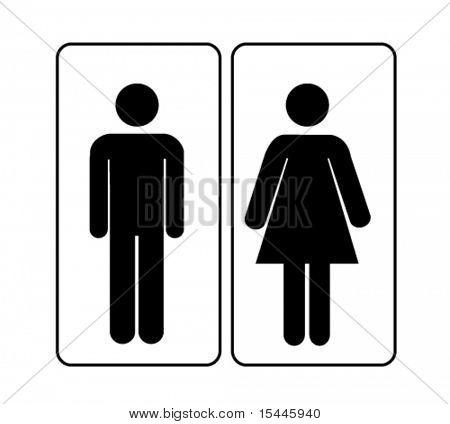 Mann-Frau-Zeichen