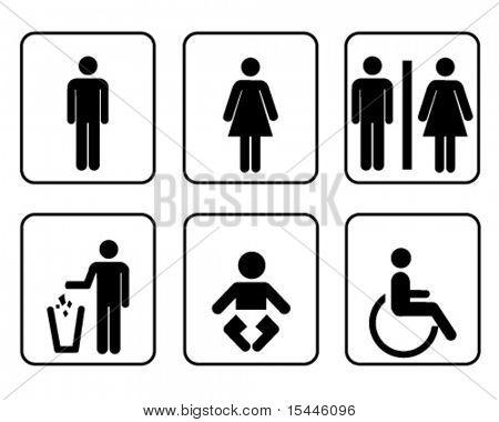 signage set