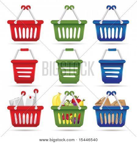 shopping cart concept