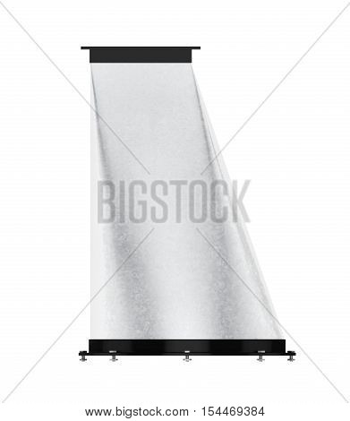 Vent Adapter Isolated On A White Background. 3D Rendering