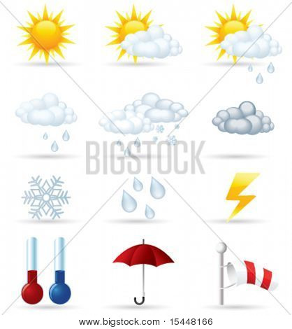 Conjunto de vectores de iconos de tiempo