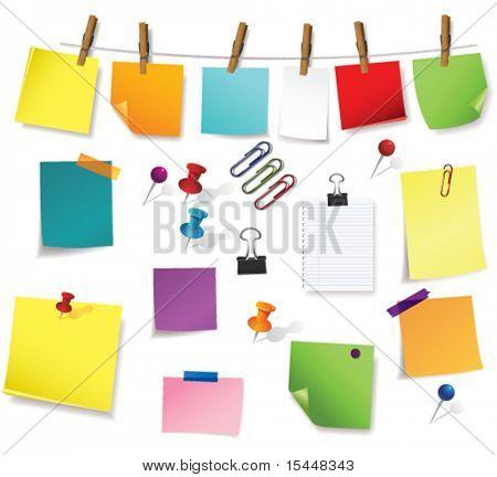 Nota Papéis e material de escritório
