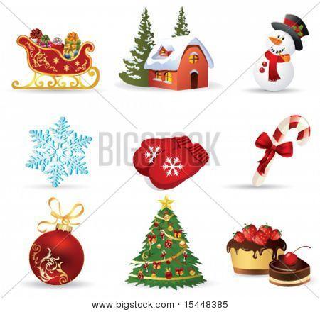 icono de la Navidad