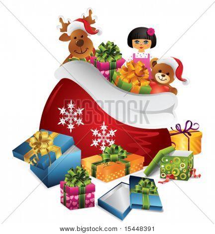 Santas sack