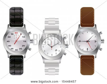set with men's watches