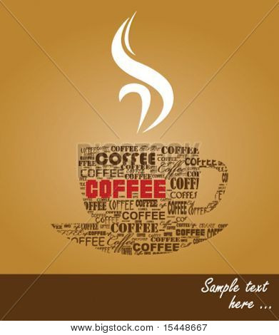 typography coffee
