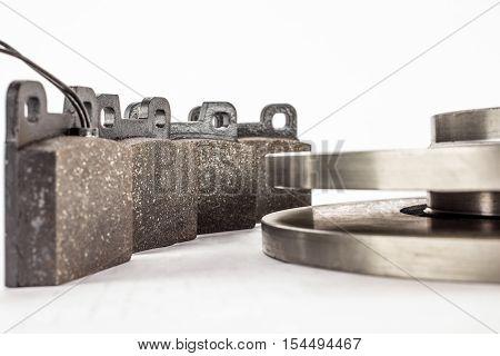 Disc Brakes And Brake Pads
