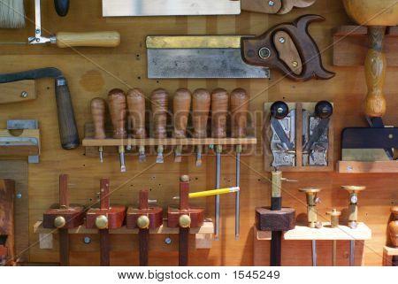 Tool Locker Of A Carpenter