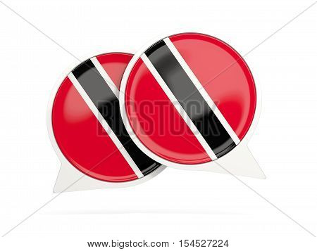 Flag Of Trinidad And Tobago, Round Chat Icon