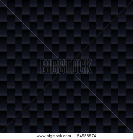 Carbon fiber seamless texture background. Technology vector illustration. Composite material.