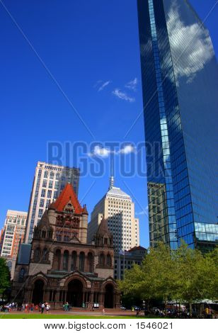 Copley Square, Boston..