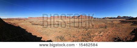 Indian Creek Panorama