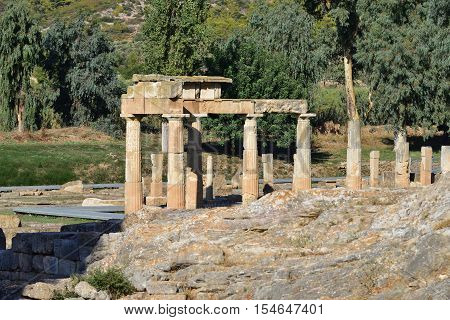 Artemis Of Vravrona Temple, Greece