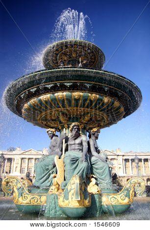 Fountain In Paris