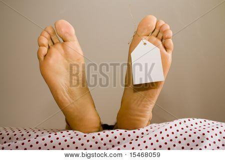 muertas de los pies