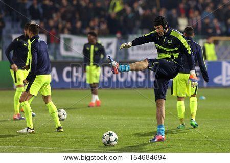 Ludogorets Vs Arsenal Football Match