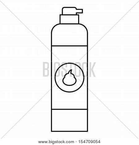 Air freshener icon. Outline illustration of air freshener vector icon for web