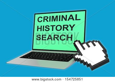 Criminal History Search Concept