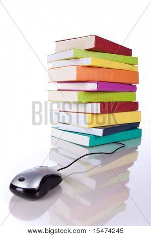 Online-Informationen Zugang Konzept (geringe Tiefenschärfe)