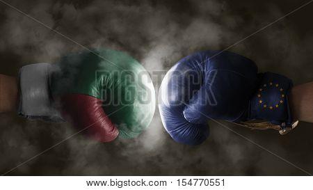 Italexit, Symbol Of A Referendum Eu Vs Italy