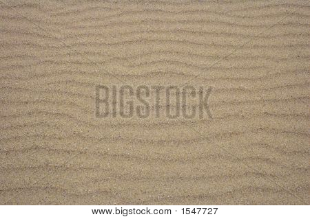 Sand Ripples For Background
