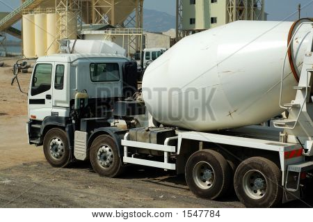 The Concrete Mixer Truck
