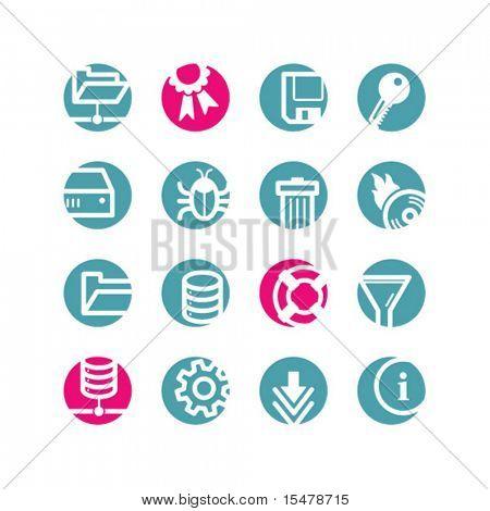 circle server icons