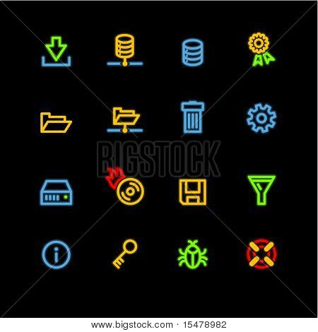 neon server icons (raster)
