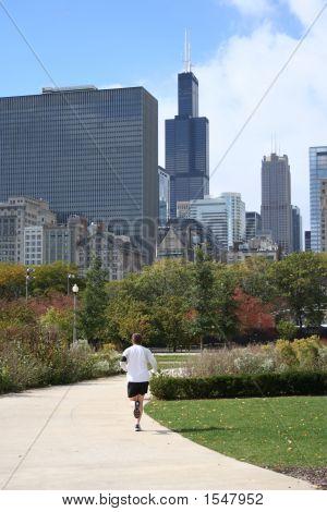 Jogging In Chicago