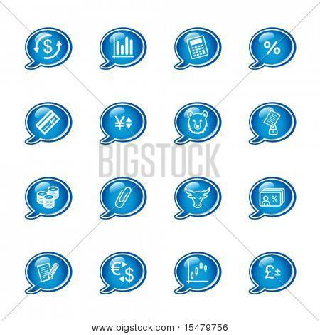 Blase Finanzen Symbole