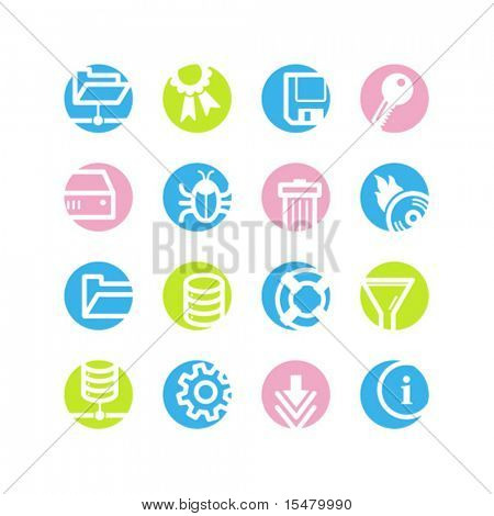 spring circle server icons