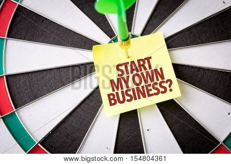 Start My Own Business?