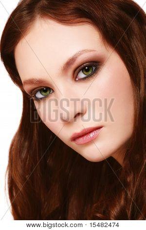 Green eyed Schönheit