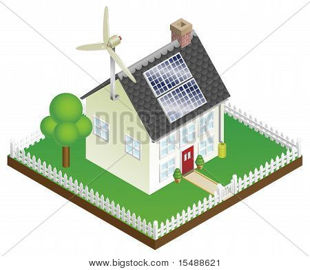 Sustainable Renewable Energy House