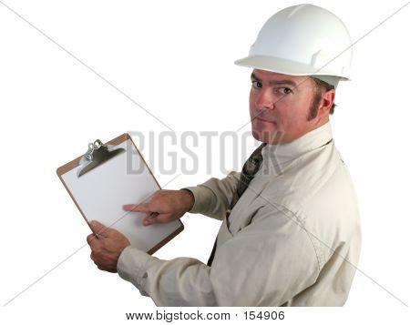 Supervisor de construção - em causa