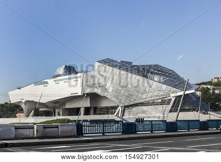 Musee Des Confluences Is A Science And Anthropology Museum