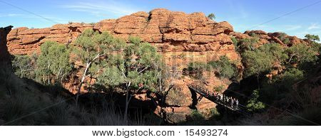 Panoramic Kings Canyon