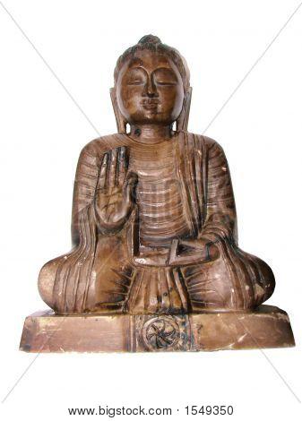Stone Buddha probably the Amida Nyorai
