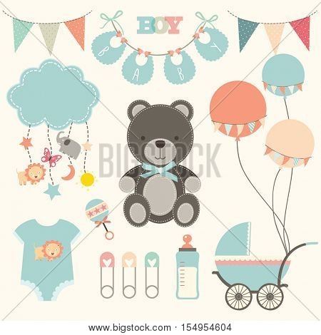 Baby Shower Element Sets