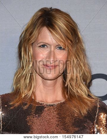 LOS ANGELES - OCT 24:  Laura Dern arrives to the InStyle Awards 2016 on October 24, 2016 in Hollywood, CA