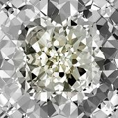 Beautiful Diamonds Background, See Vector Also In My Portfolio