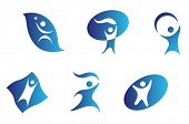 pic of people icon  - Vector version - JPG
