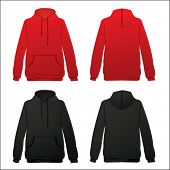 stock photo of hooded sweatshirt  - hod - JPG