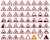 pic of road sign  - road sign icons - JPG