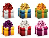 stock photo of blue things  - Presents - JPG