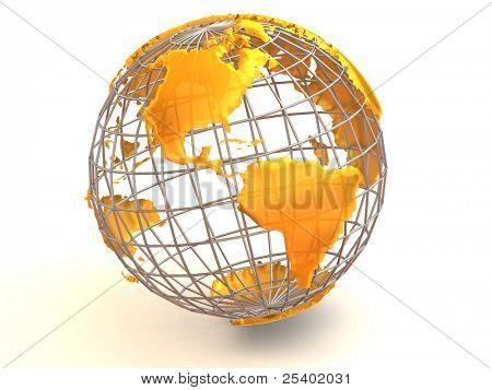 Tierra. 3D