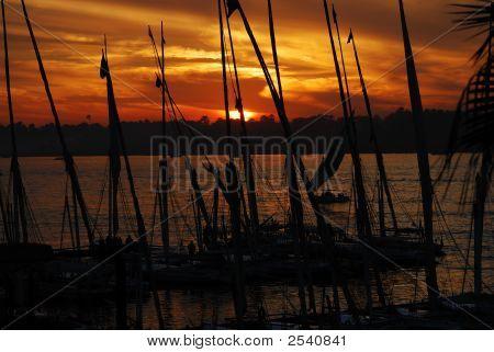 Sunset Nile Cruise