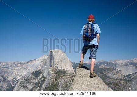 Caminhante do Half Dome