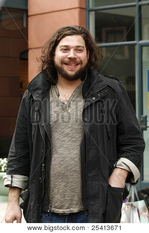 LOS ANGELES - NOV 18: X Factor contestant Josh Krajcik is out and about on November 18, 2011 in Los Angeles, California
